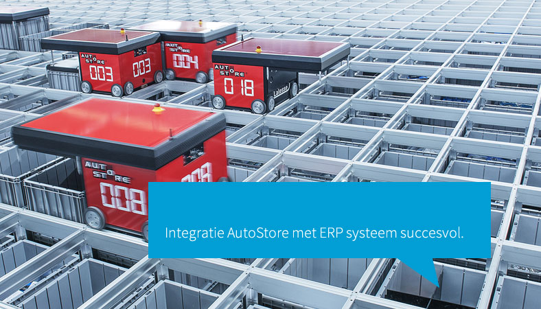 Autostore integratie met ERP systeem