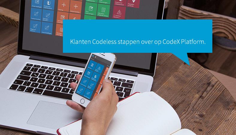 CodeX platform Codeless