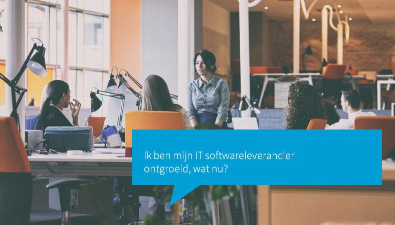 IT software leverancier ontgroeid
