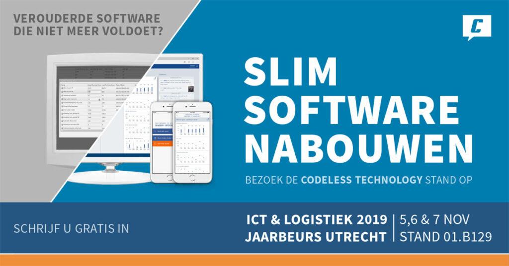 Slim Software nabouwen ICT & Logistiek 2019