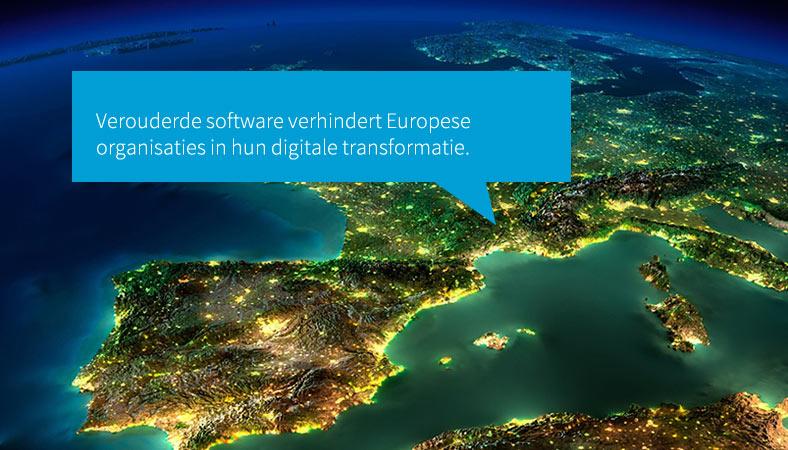 Verouderde software hindert digitale transformatie